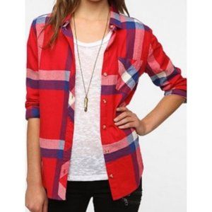 Urban Outfitters BDG Boyfriend Flannel Shirt Small